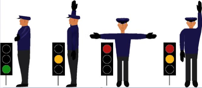 تنظيم المرور من قبل الشرطة في ألمانيا