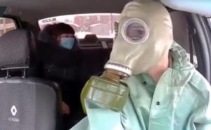 سائق تكسي في زمن الكورونا