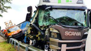 حادث شاحنة مميت على الطريق السريع A3!
