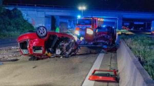 كولن-وفاة شخصين بعد سلسلة من الحوادث على الطريق السريع A4