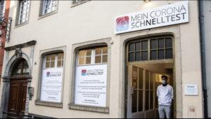 كولن , افتتاح أول مركز اختبار كورونا سريع