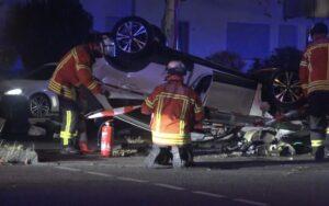 محاولة هروب سائق بعد عدة حوادث وأعمال عنف واختطاف سيارات