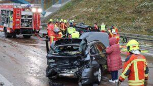 18 مصاب نتيجة 8 حوادث متتالية على الطريق السريع A8