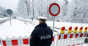 الشرطة تطوق مناطق التزلج في ألمانيا