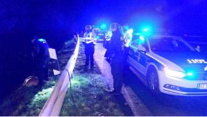 تحطم سيارة وهرب السائق تاركاً 1400يورو