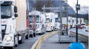 ازدحام مروري بطول 20 كم على الحدود التشيكية الألمانية