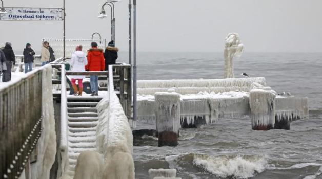 آخر تطورات العاصفة الثلجية التي تجتاح ألمانيا