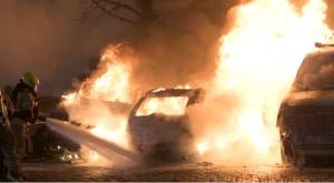 حريق متعمد لثماني سيارات في برلين