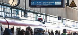 ألمانيا – إضراب سائقي القطارات وتعطل حركة السكك الحديدية خمسة أيام